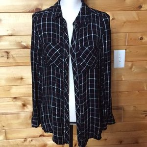 NWT Sparkly Flannel